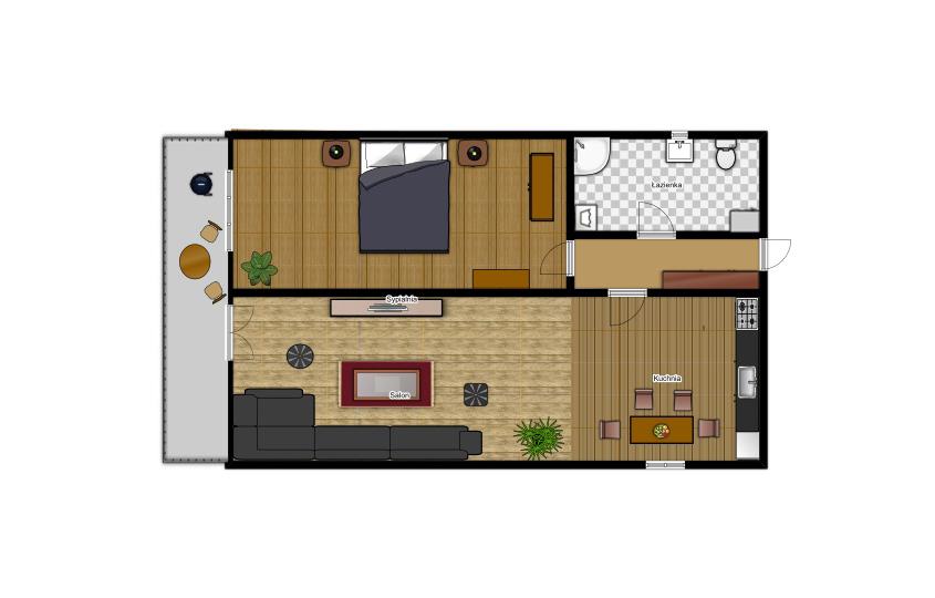 Appartement Krzeptówki Exclusive 24